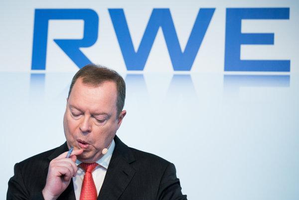 Generálny riaditeľ RWE Peter Terium.
