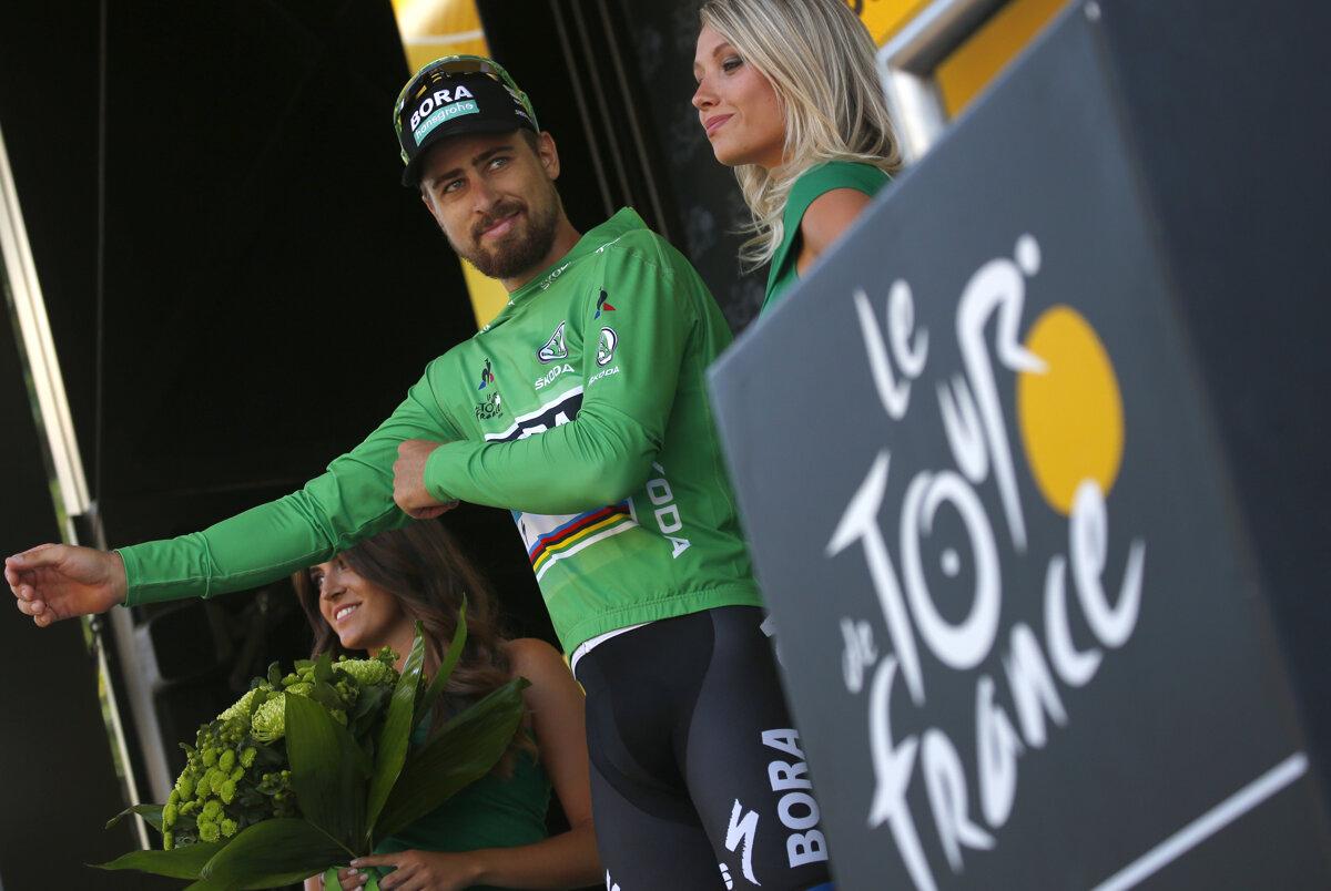 8c0f7b7aede85 Slovenský cyklista Peter Sagan patrí medzi najväčšie osobnosti Tour de  France. Šesťkrát získal zelený dres