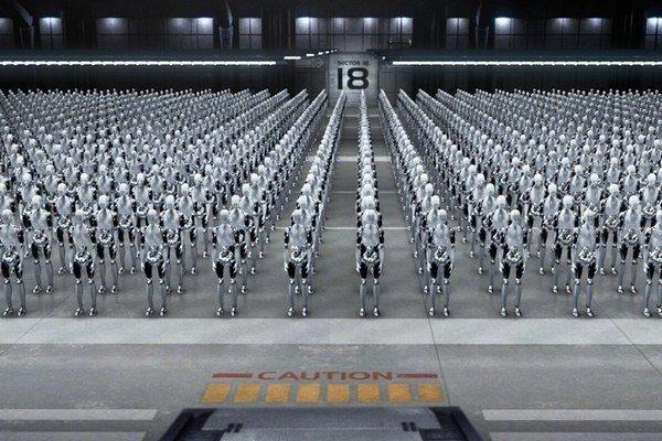 Problém nastane, keď stroje budú tvoriť stroje.