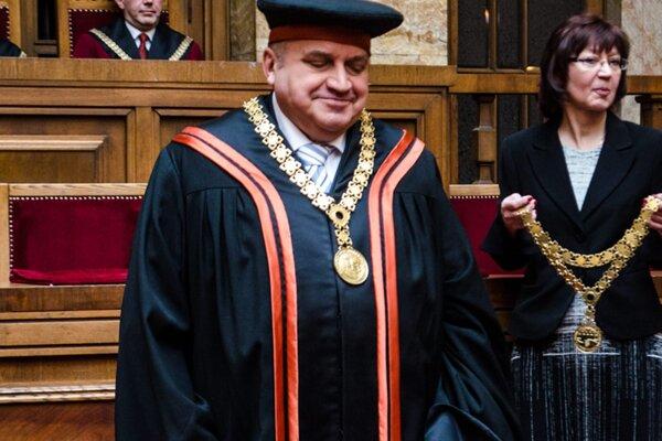 Jozef Komorník na snímke z roku 2015.
