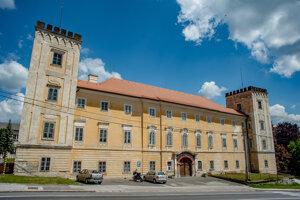Kaštieľ v Žiari nad Hronom.