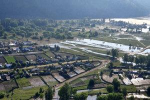 Záplavy v irkutskom regióne.