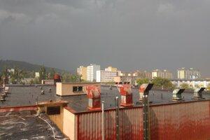 Po búrke v Košiciach.