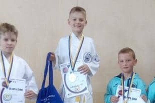Kamil Kutlák – mladá nádej Kumade – si vybojoval prvé miesto.