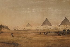 Po krajine na Níle cestoval Libay od 9. decembra 1855 do 20. mája 1856.