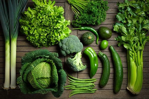 Zelené na tanieri lahodí oku a prospieva zdraviu.