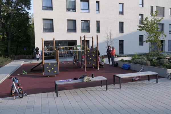 Spoločný dvor v Hájparku