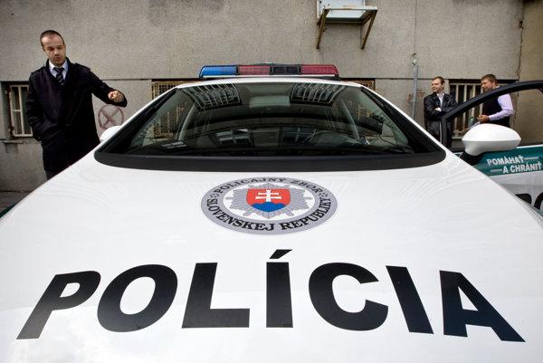 Policajti kontrolovali pásy.