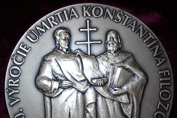 Nová pamätná medaila.