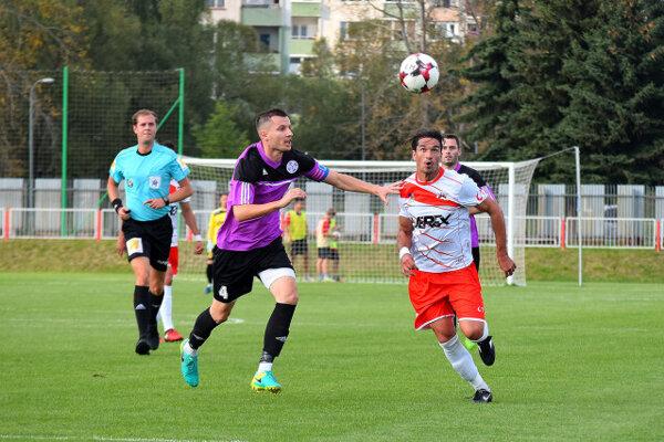 Dragan Andrič (vpravo) ešte v drese Liptovského Mikuláša.