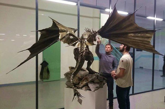 Zatiaľ najväčšia Mariánova socha draka.
