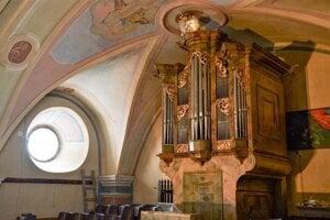 Obnovený organ sa zaskvie v plnej kráse.