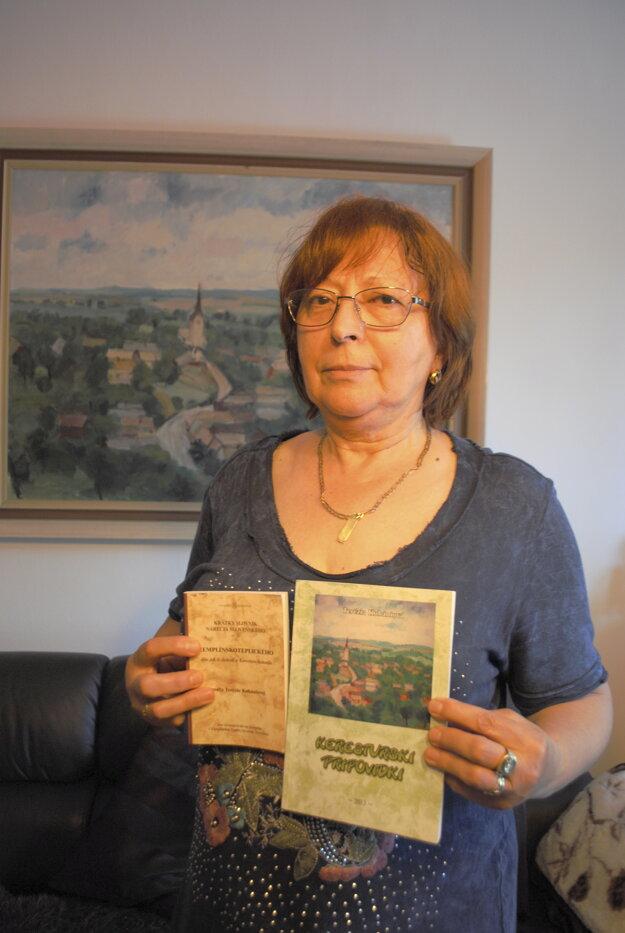 Terézia Kubániová, autorka nárečového slovníka aj Keresturskich pripovidok.