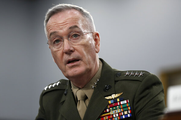 Americký generál Joseph Dunford.