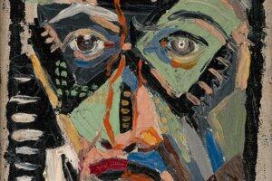 Tvár muža je jedno z jeho najvýraznejších diel.