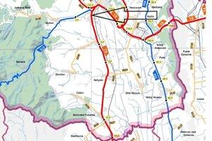 Plánovaná oprava cesty na úseku Vranov nad Topľou - Parchovany.