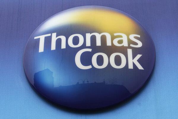 Logo cestovnej agentúry Thomas Cook.