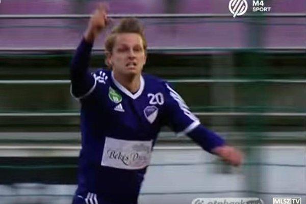Prvý gól Matúša Pauknera v maďarskej lige priniesol jeho tímu tri body.