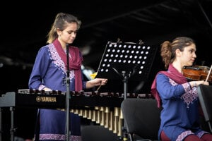 Afganský orchester ZOHRA na Pohode 2019.