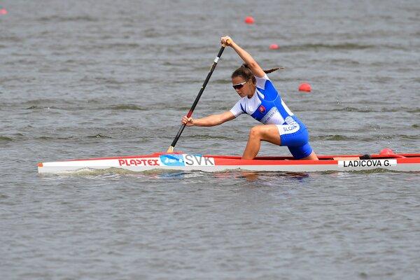 Gabriela Ladičová získala v nedeľu dve strieborné medaily.