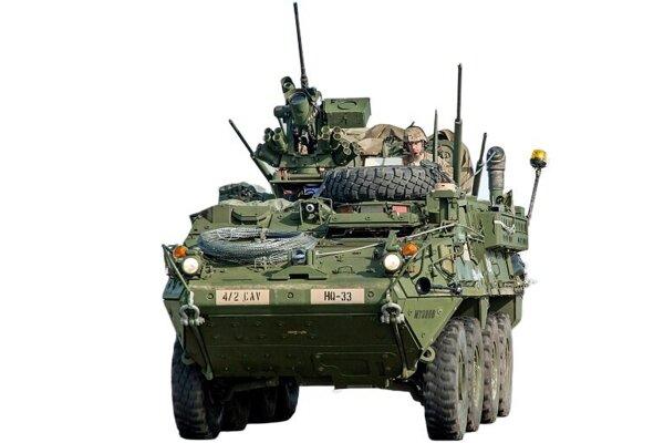 Ilustračné foto – americké armádne vozidlo.