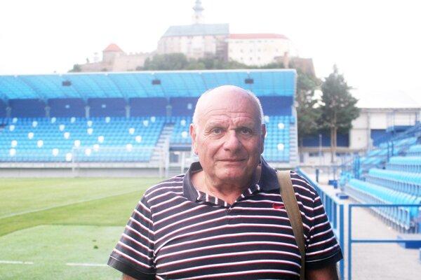 Zoltán Hübsch si prišiel pozrieť generálku FC Nitra.