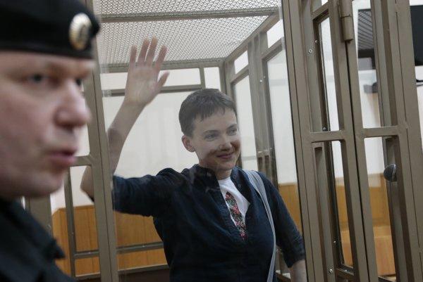 Savčenková sa na súde tvárila, ako keby sa ani nerozhodovalo o jej osude.