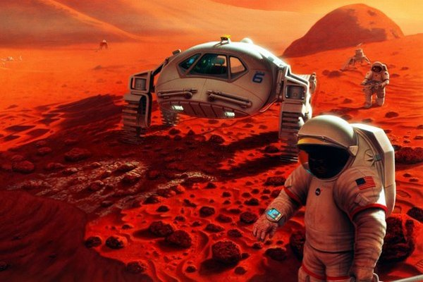 Najbližšie ideálne podmienky na cestu na Mars budú v roku 2018.