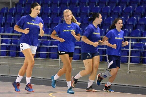Hádzanárky Michaloviec absolvovali v pondelok prvý tréning prípravy.