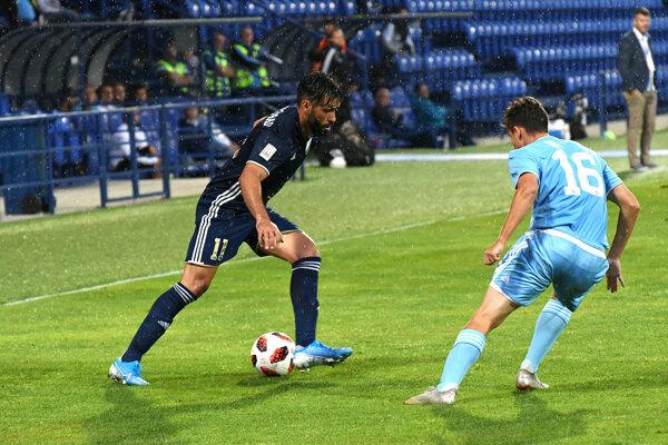 Ovýhru Popradu nad rezervou Slovana Bratislava sa zaslúžila aj nová posila, Brazílčan Junior.