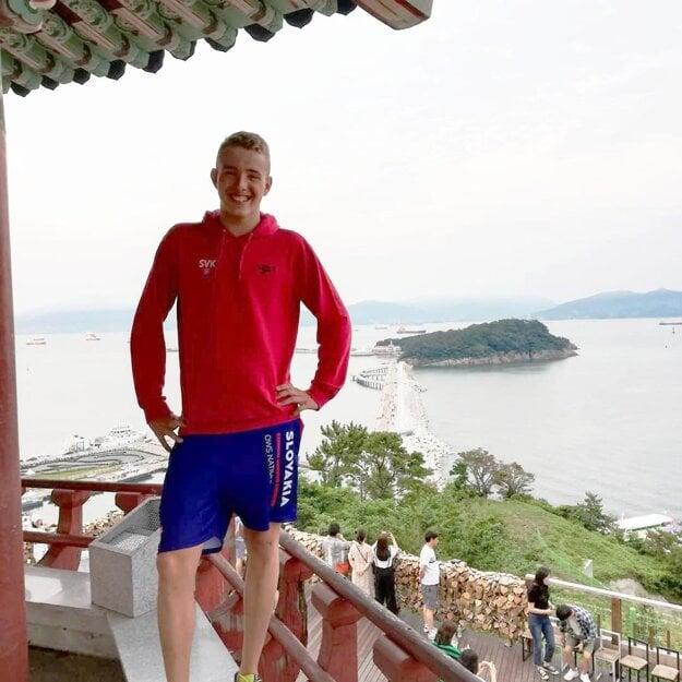 Tomáš Peciar na MS v Južnej Kórei.