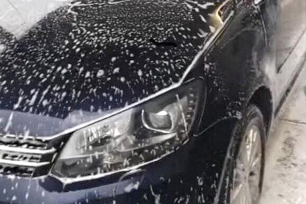 Ukradnutý VW Touran.