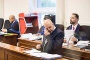 Obvinený Pavol Rusko na súde.