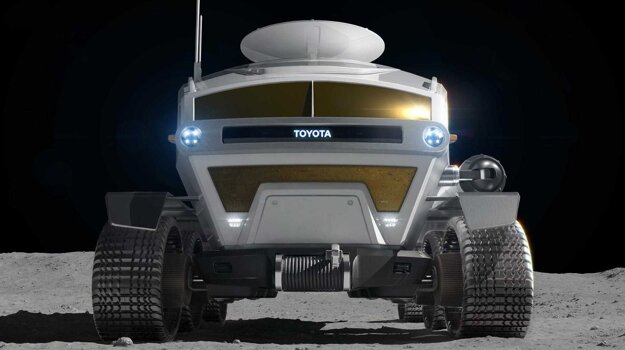 Lunárne vozidlo, ktoré vyvíja Toyota a JAXA