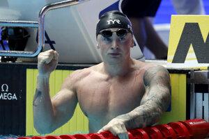 Britský plavec Adam Peaty.
