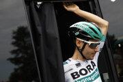 Emanuel Buchmann počas Tour de France 2019.