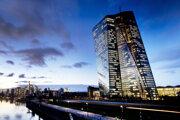 Sídlo ECB vo Frankfurte.