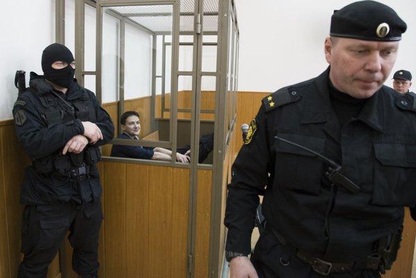 Savčenková na súde.