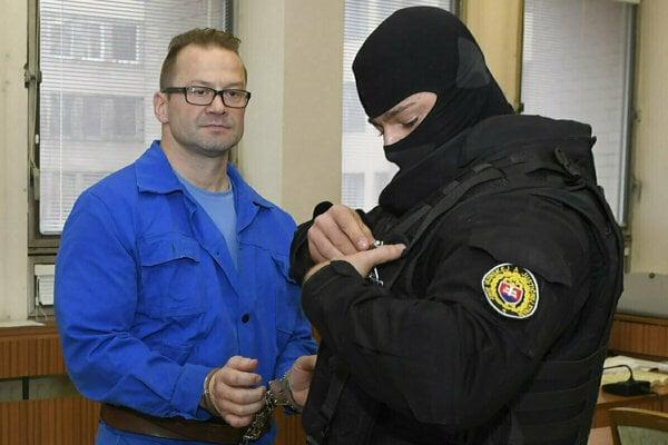 Dušan Borženský na košickom súde.