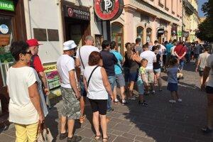 O nulovú eurobankovku bol v Prešove obrovský záujem.