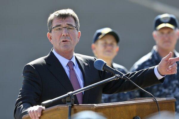 Americký minister obrany Ashton Carter.