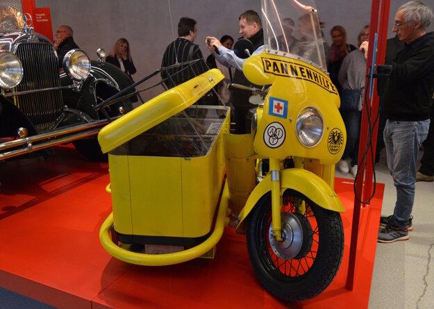 Motocykel cestnej pomoci