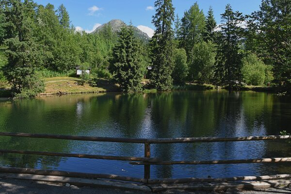 Jazierka lásky sa kedysi volali Štrbské rybníky.