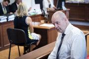 Obvinený Pavol Rusko počas utorňajšieho pojednávania.