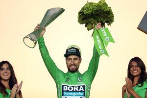 Peter Sagan získal opäť zelený dres.