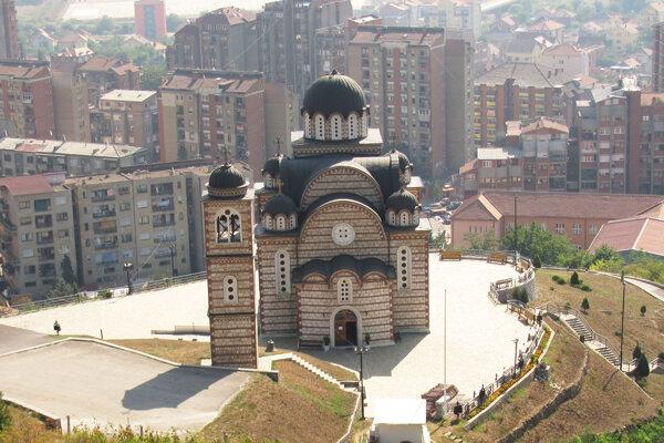 Kosovská Mitrovica, kostol sv. Demetra.