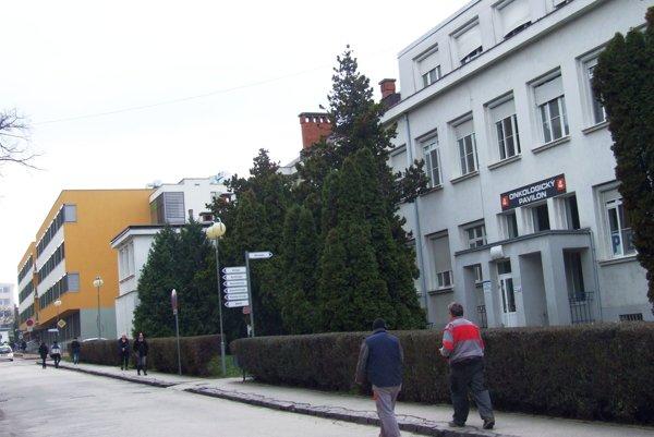 Onkologický pavilón.