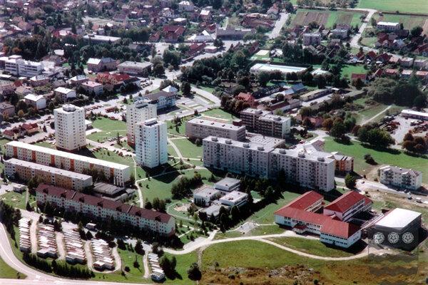 Sídlisko Horné Rakovce v Turčianskych Tepliciach.