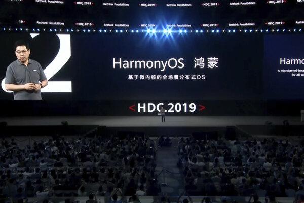 Huawei predstavil nový systém.