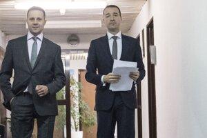 Sprava Tomáš Drucker a Tomáš Kuča.